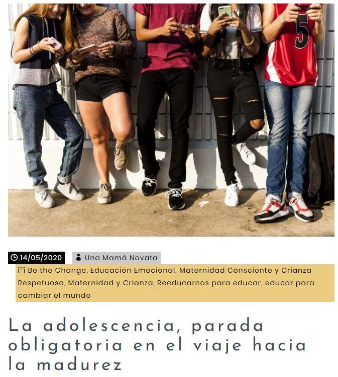 Publicación de Katia Aranzábal en Una Mamá Novata