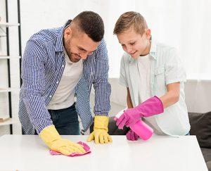 Participar en las tareas de casa puede ayudar a los adolescentes con TDAH