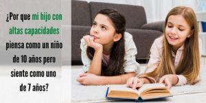 Las disincronías en niños con altas capacidades