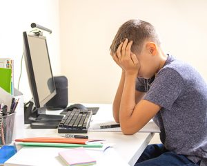 Ejemplos de frustracion en niños