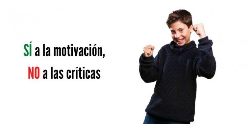 Motivación en niños cómo y cuándo