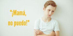 Frustración en niños: ejemplos prácticos.