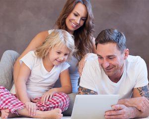 actividades de relajación en familia
