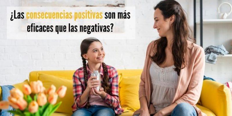 Consecuencias positivas más eficaces que negativas